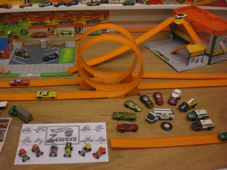 Early Hot Wheels Redlines Track Sets Talking Service Station Zowees And Others Accessories Mike Zarno Vintage Hot Wheels Mattel Hot Wheels Hot Wheels Track