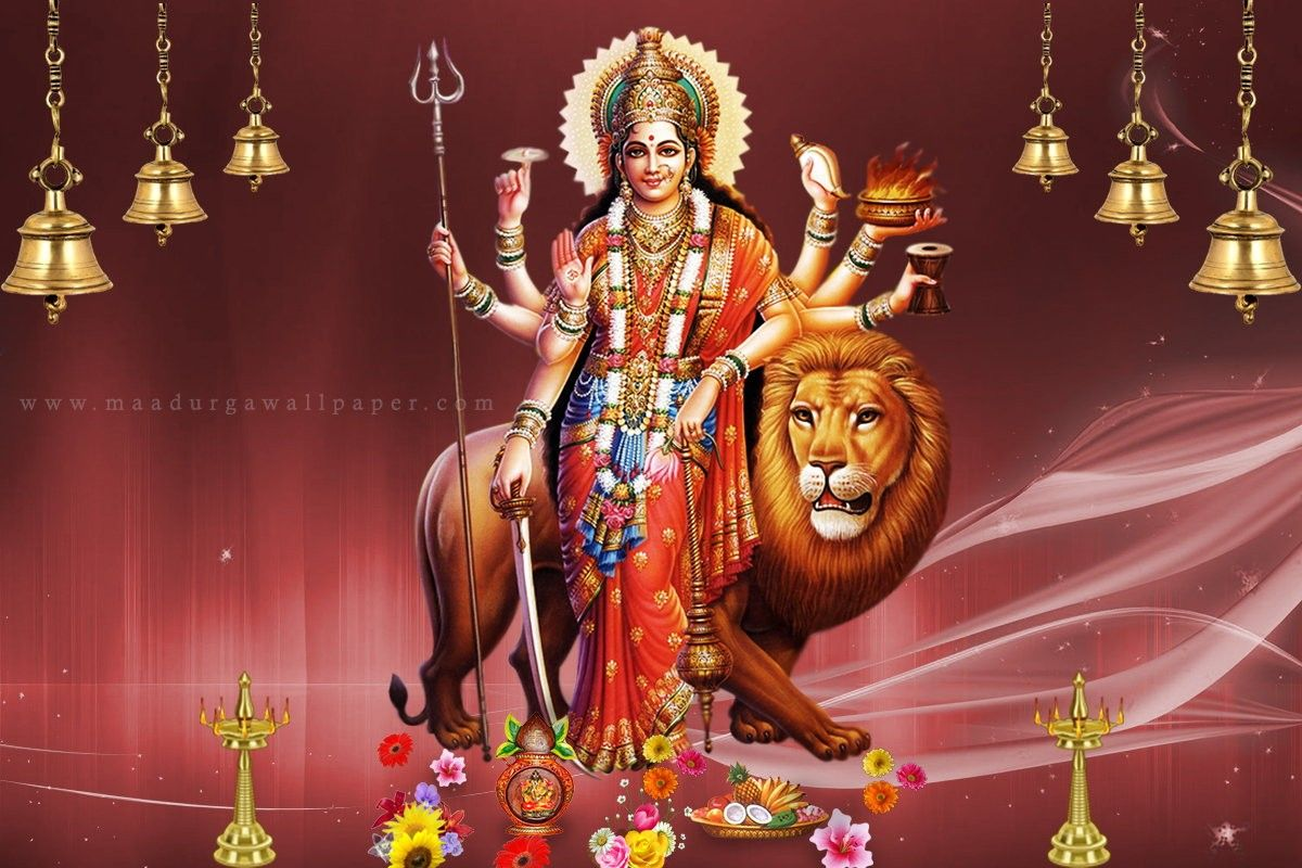Maa Durga Ultra Hd Wallpaper Happy Navaratri 4k Wallpaper Maa
