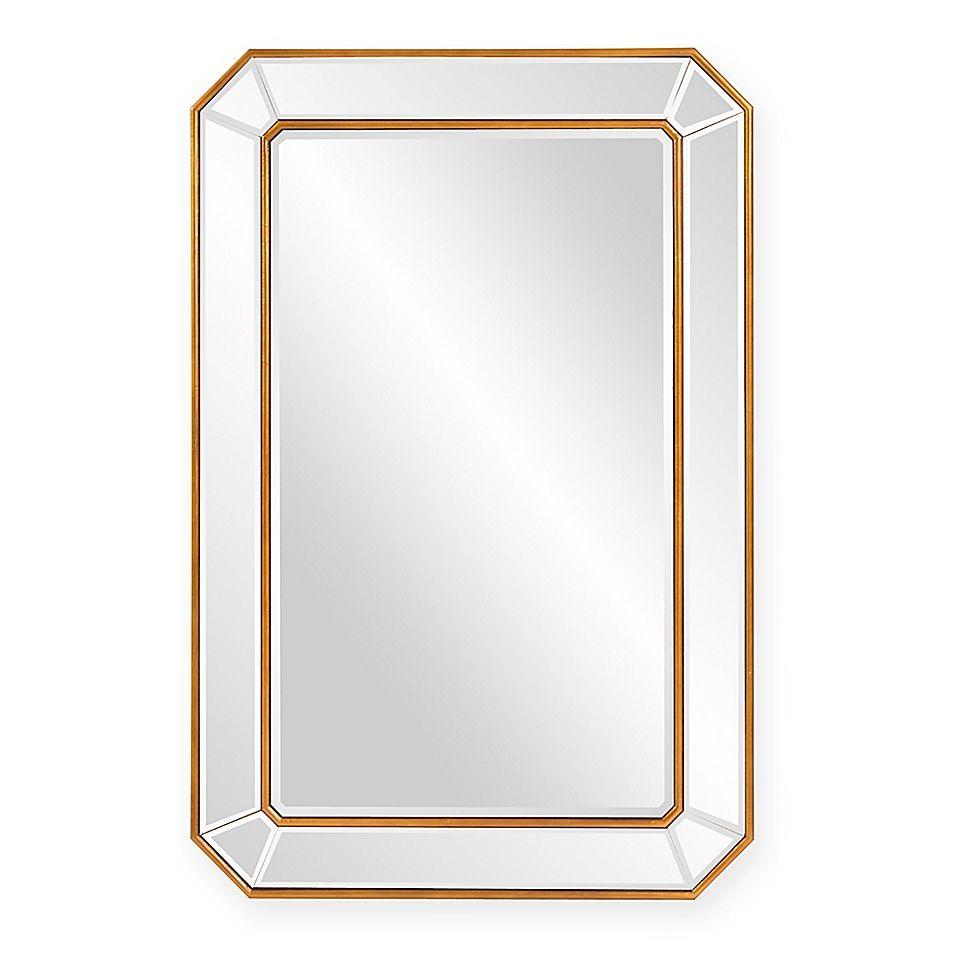 36 X 24 Leopold Rectangular Mirror Gold Rectangle Mirror Mirror Wall Rectangular Mirror