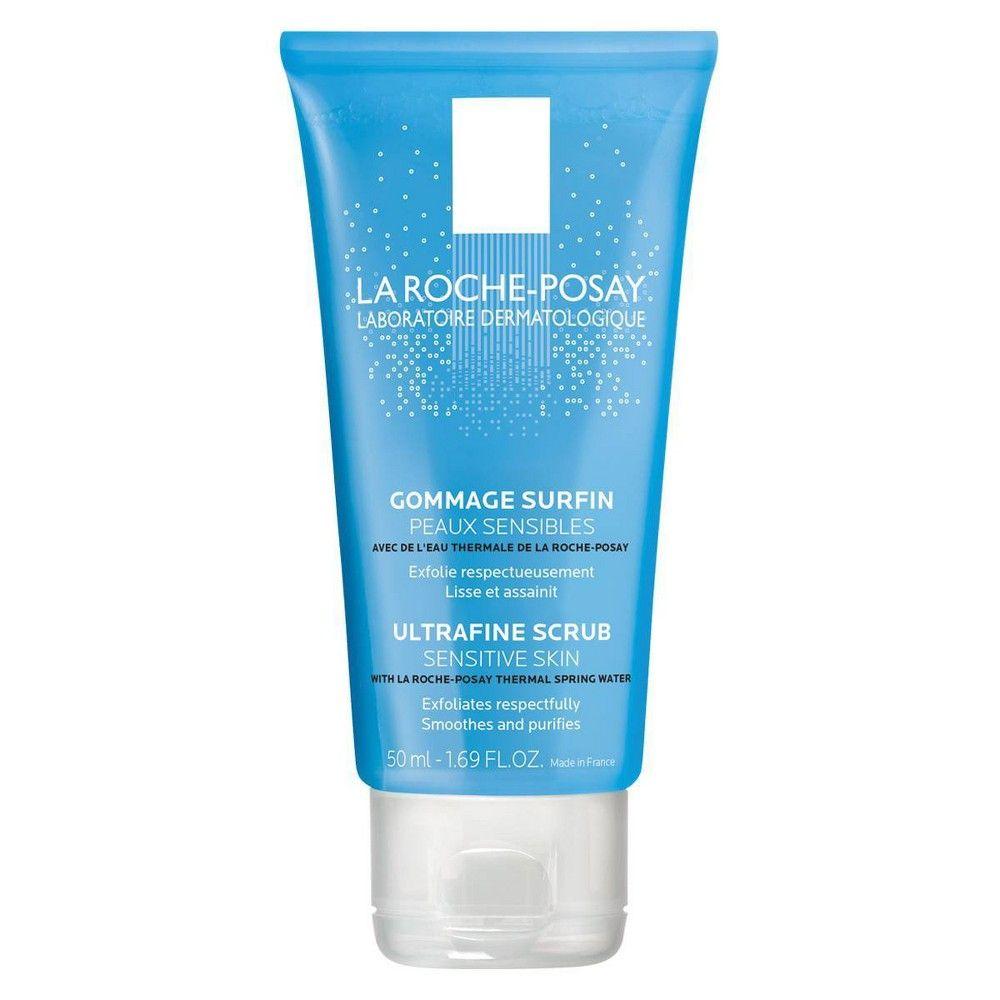 La Roche Posay Ultra Fine Exfoliating Scrub Face Wash For Sensitive Skin 1 69oz In 2021 Exfoliating Face Scrub Scrub Face Wash Exfoliating Face Wash