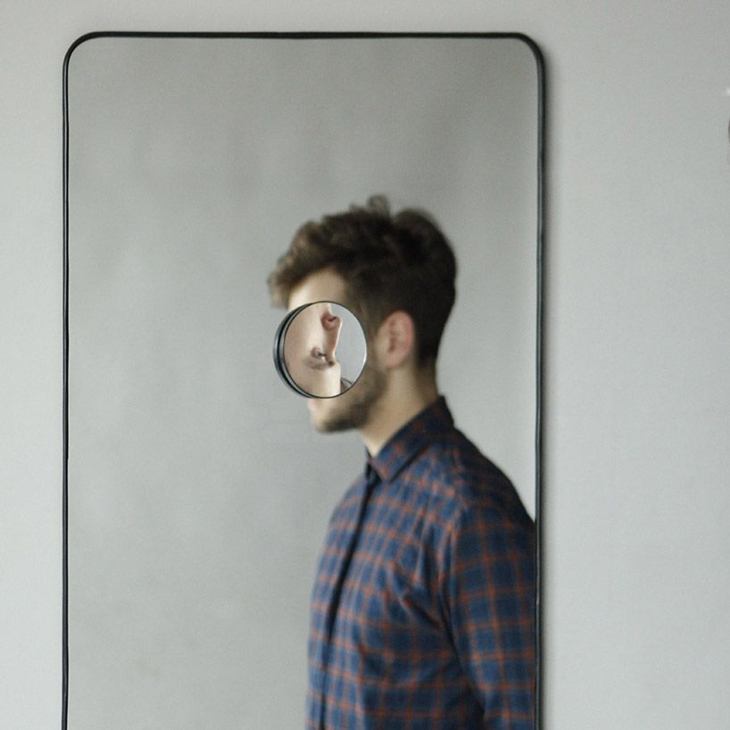 egle stonkute manipulates mirrors to skew our perceptions of self