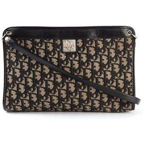 3c045bffbf6e Christian Dior Vintage Logo Print Shoulder Bag