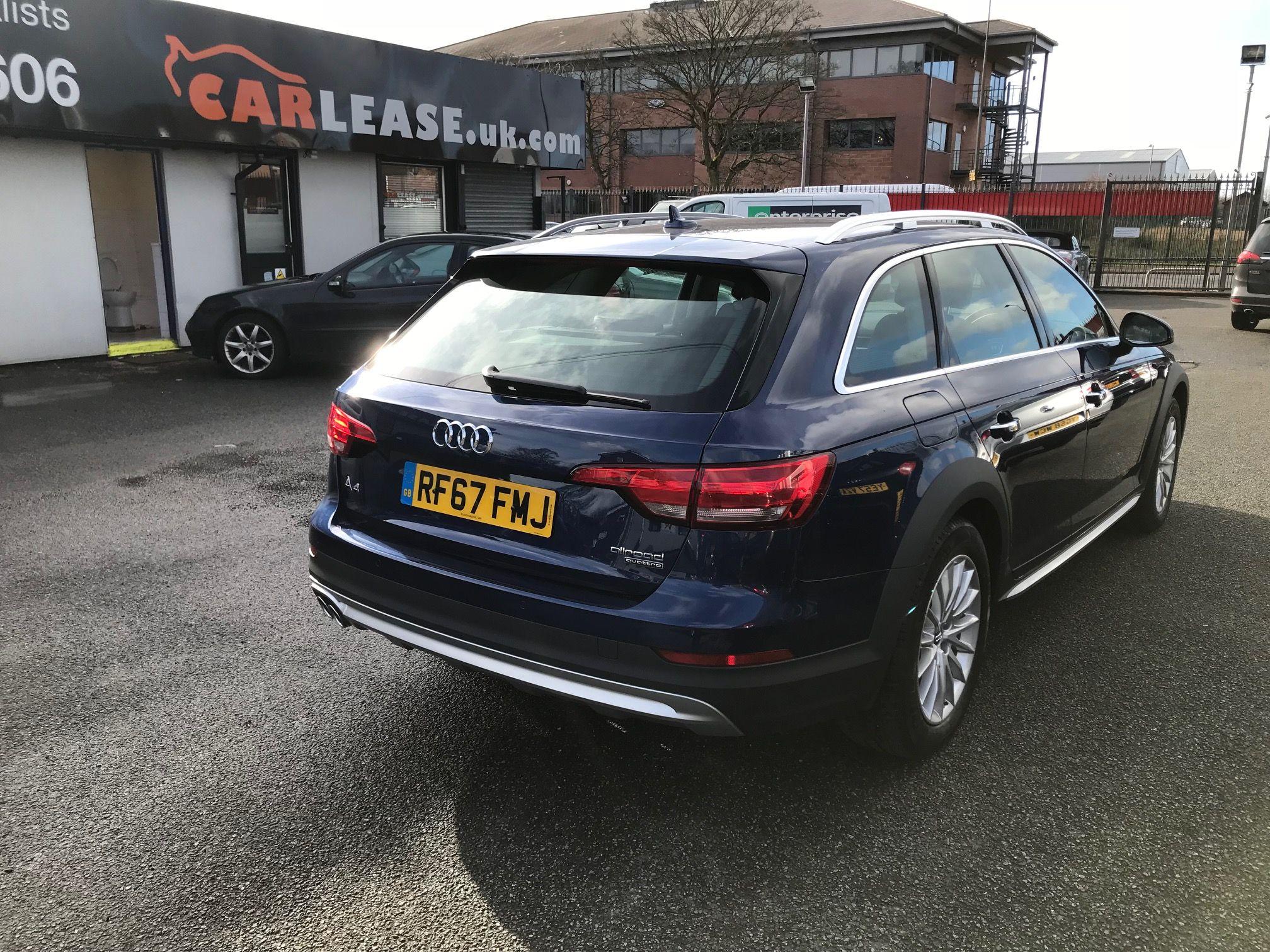 The Audi A Diesel Allroad Estate TDI Quattro Door S Tronic - Audi personal car leasing deals