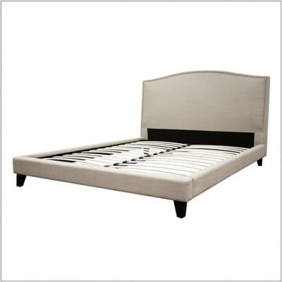 Actual Platform Bed No Box Spring Required King Platform Bed