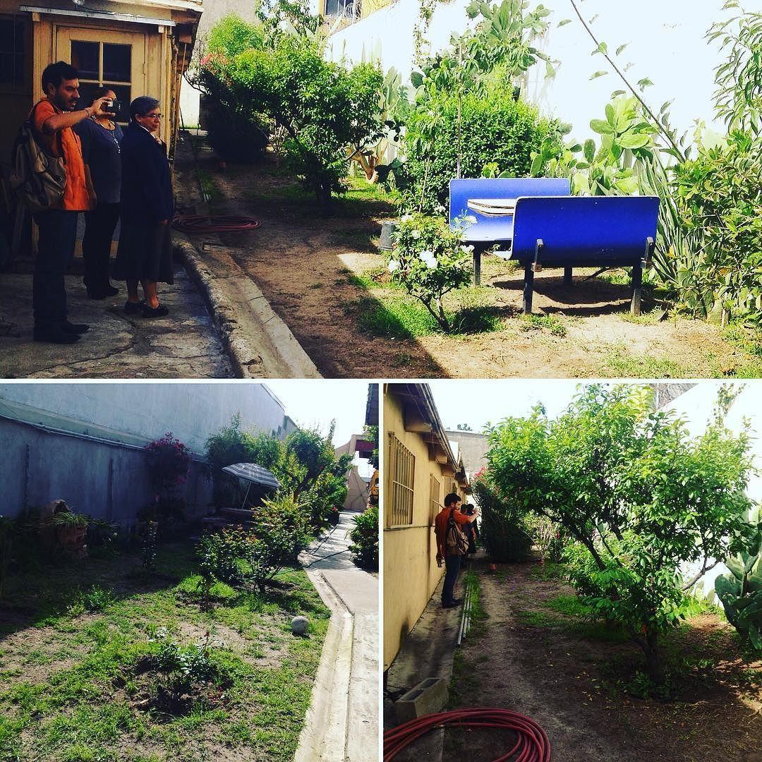 Viernes de visitas a #CasasHogar para planear #ProyectoSemilla #huertosurbanos #Tijuana