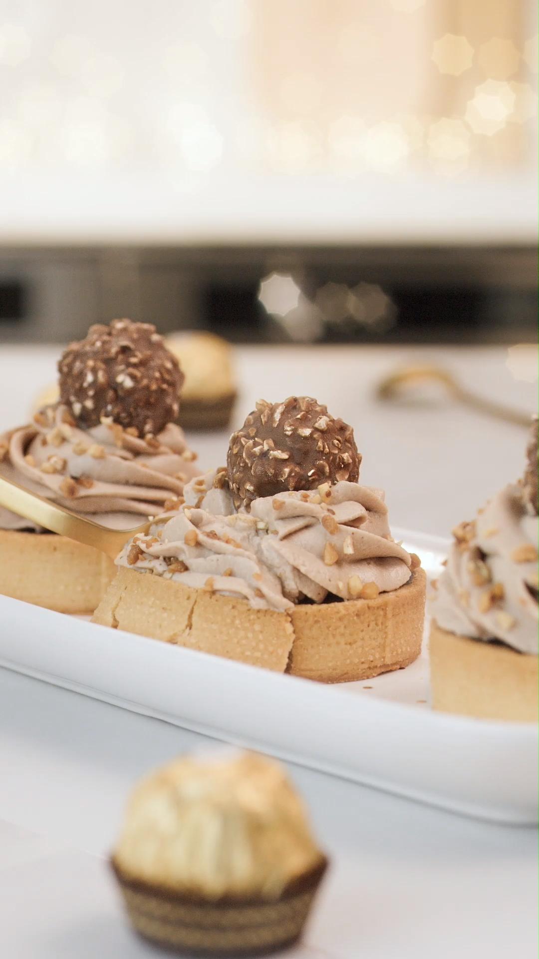 Tartelette Pralinée Ferrero Rocher