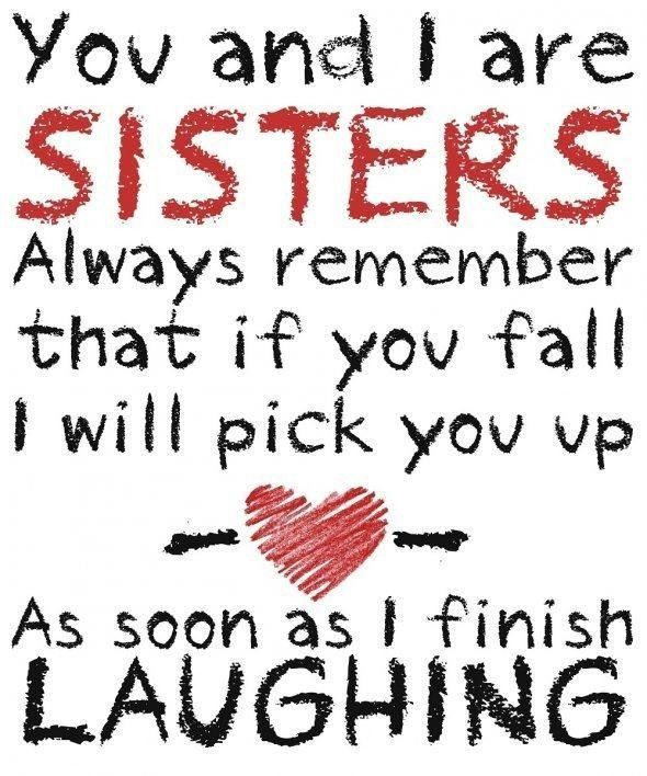 Sisters Understand This Sister Quotes Funny Quotes Picture Quotes