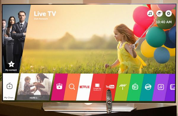LG launches Smart TV OS that's built with the SmartHome in mind.