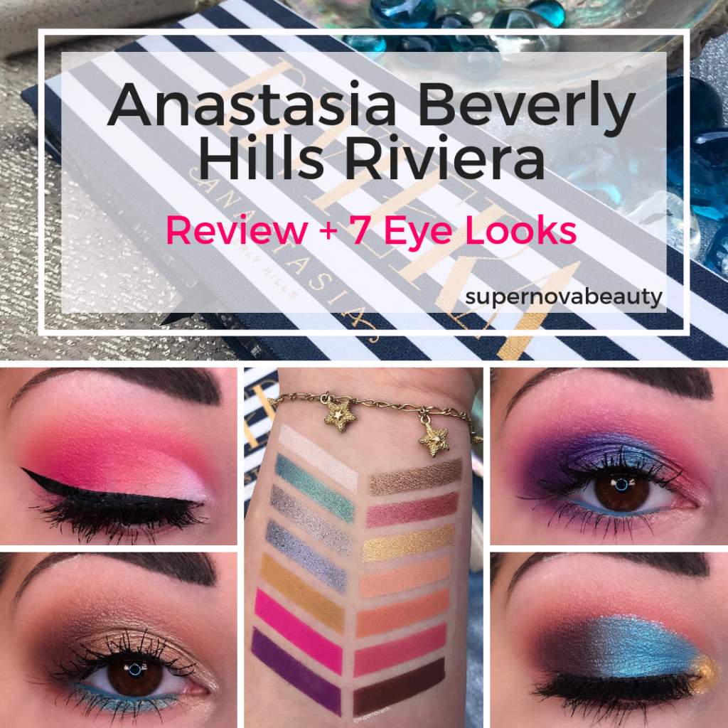 Anastasia Beverly Hills Riviera Palette   Review, Swatches and 7 Looks Gallery