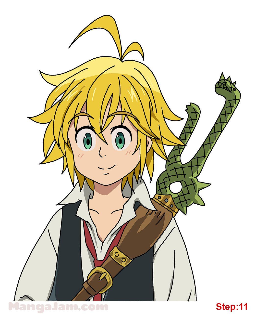 How To Draw The Seven Deadly Sins : seven, deadly, Meliodas, Nantsu, Taizai, Welcome, Seven, Deadly, Anime,, Anime, Character, Drawing,