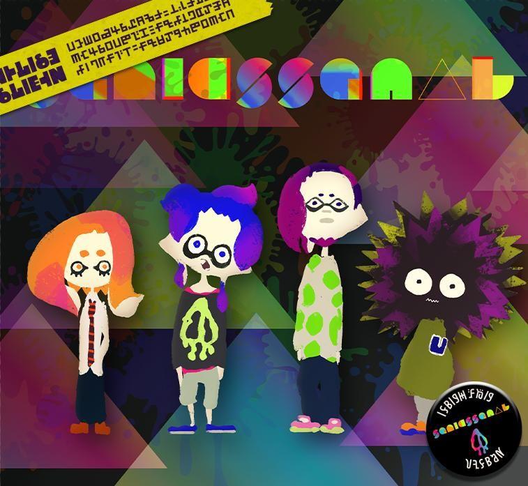 """Splatoon(スプラトゥーン)さんはTwitterを使っています: """"彼らは「Squid Squad」。 バトルのBGMを演奏するカリスマ的人気を誇るバンドだ。 ロックをベースに幅広いジャンルを取り入れた楽曲が魅力だ。 あまりの人気にライブは大混乱となるため、最近は人前に姿を見せないらしい。 http://t.co/GZhLNXRX65"""""""