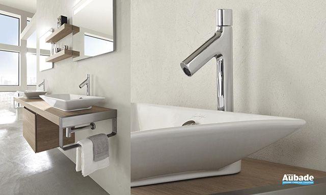 Vasque en céramique élégante et design Rêve de Jacob Delafon salle