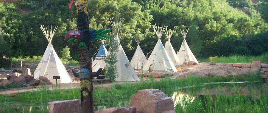 Native American Village Teepee Native American Village | Village ...
