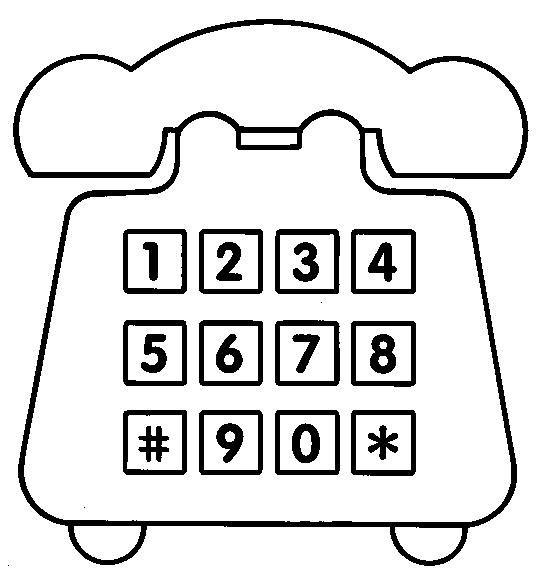 Maestra De Infantil Medios De Comunicacion Para Colorear Dibujos De Telefonos Medios De Comunicacion Comunicacion Dibujos