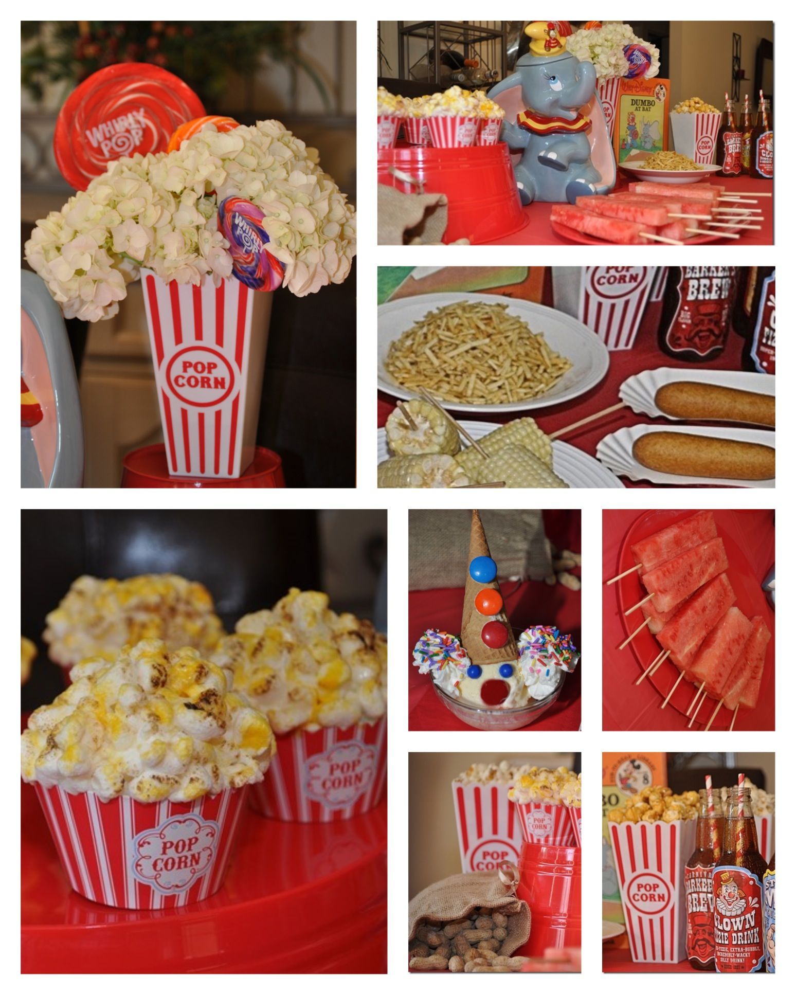 Dumbo Disney Dinner And A Movie Night Party We Had Circus Food