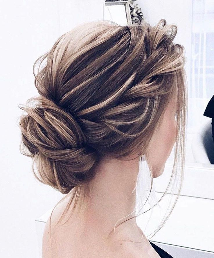 40 Updos For Long Hair Easy And Cute Updos For 2019 In 2020 With Images Prom Hairstyles For Long Hair Down Hairstyles Prom Hair
