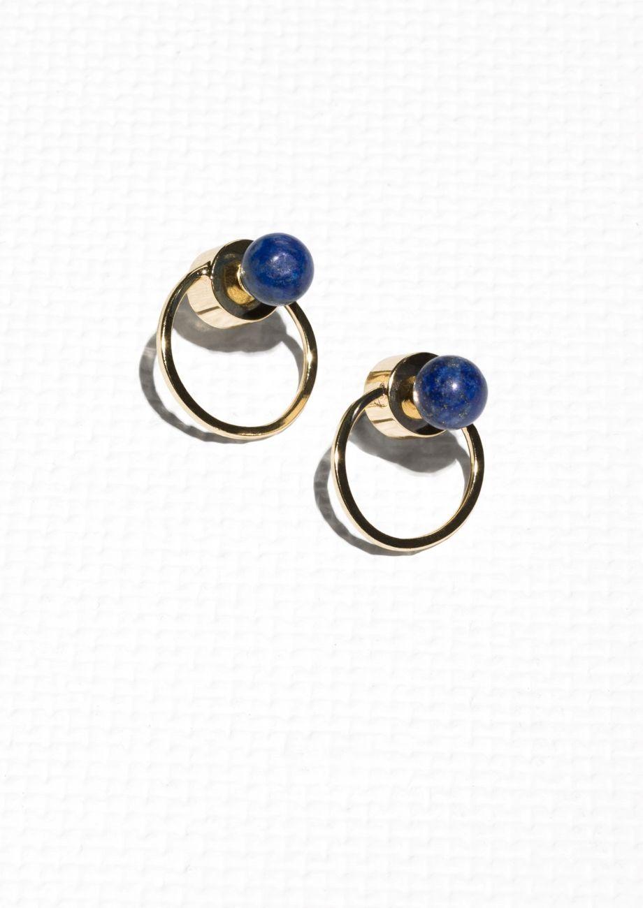 e30db0de6 & Other Stories   Circular Drop-Back Earrings   jewelry   Earrings ...
