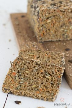 Dinkel-Möhren-Vollkornbrot (Übernachtgare) | Cookie und Co