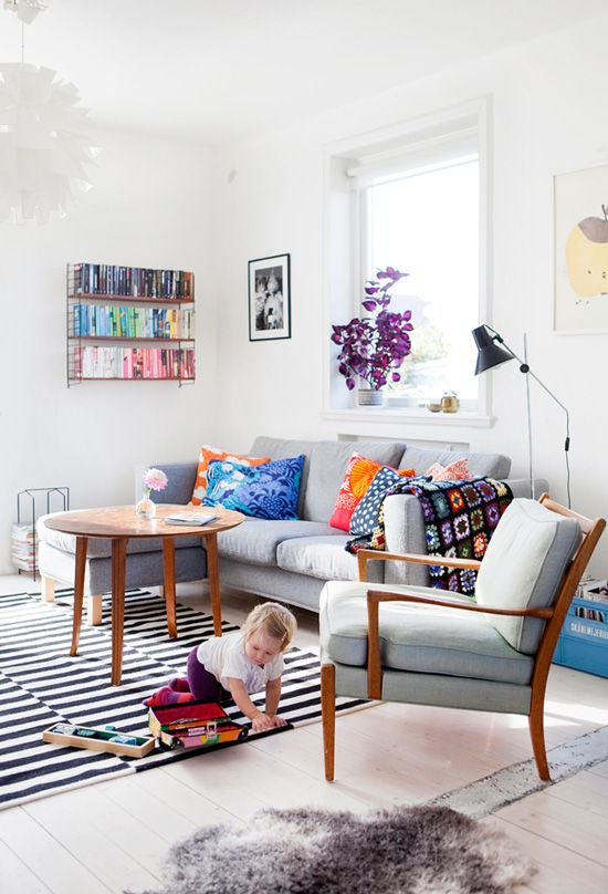 a dreamy Scandi home with heart
