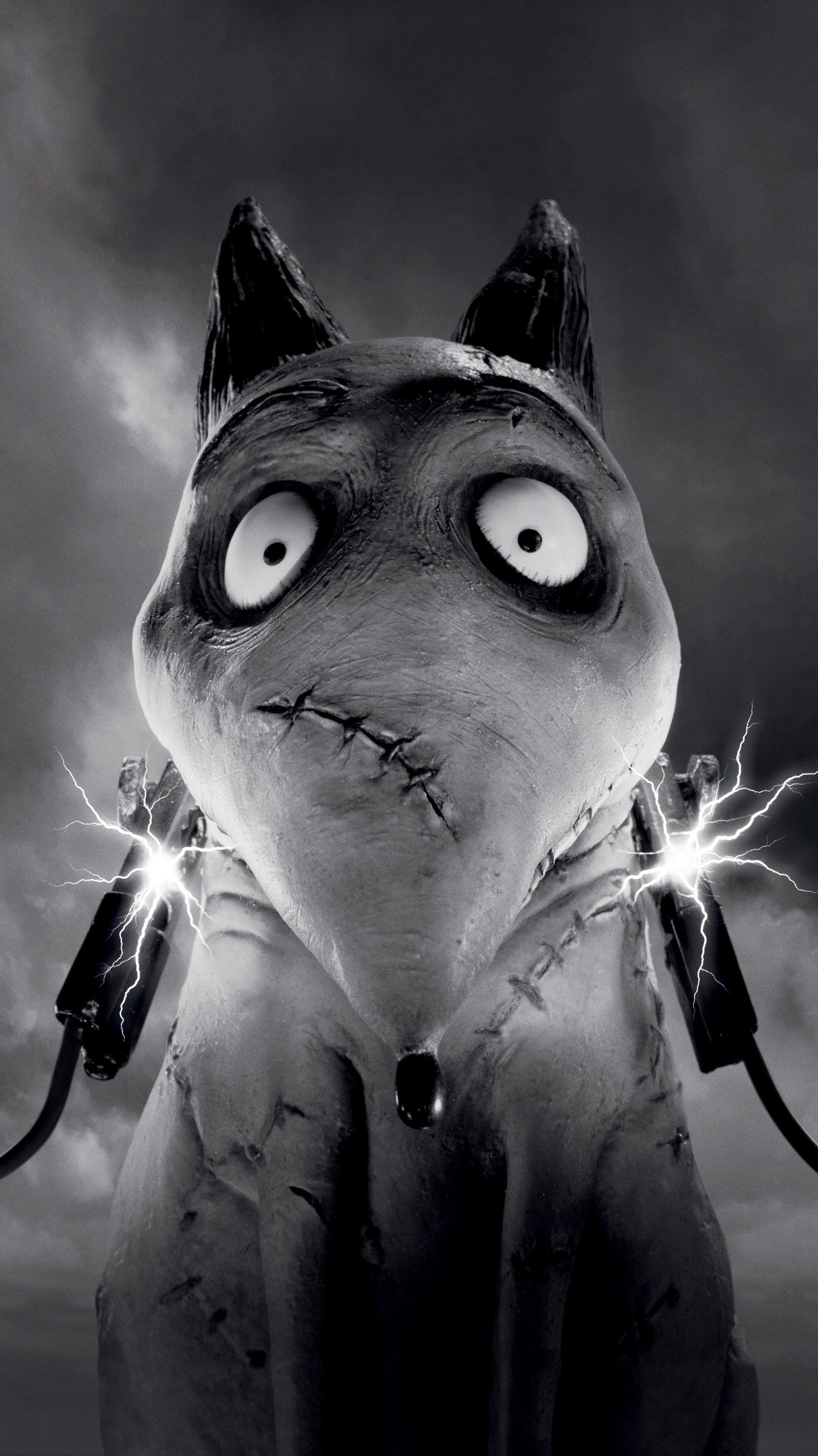 Frankenweenie 2012 Phone Wallpaper Moviemania Tim Burton Stop Motion Animated Movie Posters