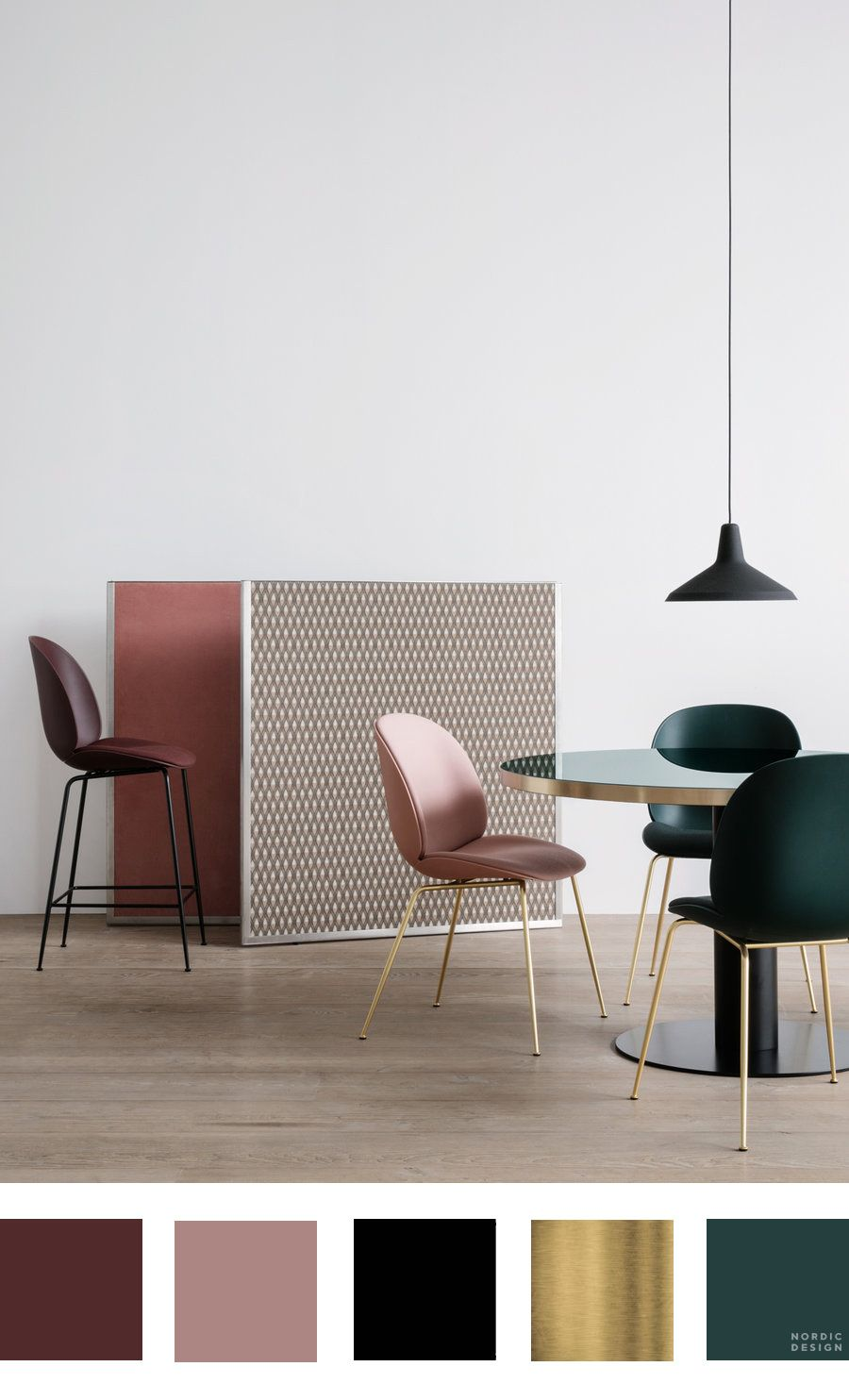 Kleurenschema Interieur 10 Beautiful And Totally Workable Color Palettes From Danish