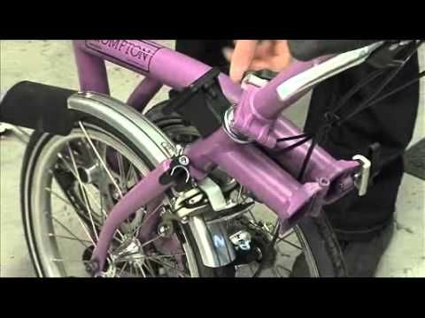 936ba9a67ba Technical Guide - Folding And Unfolding A Brompton - YouTube Folding Bicycle,  Brompton, Hobbies