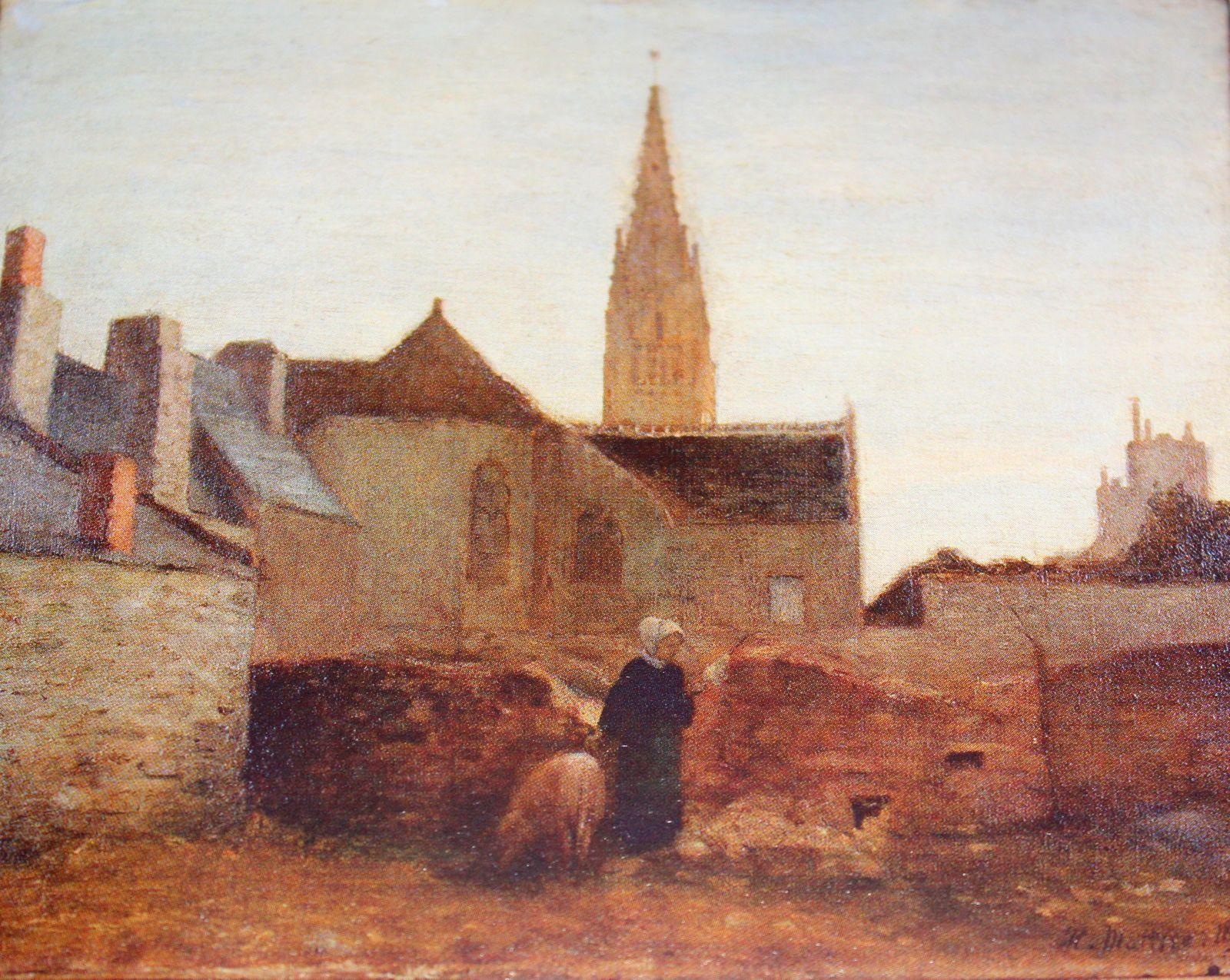 "Henri Matisse "" Village en Bretagne "" 1895 Art"