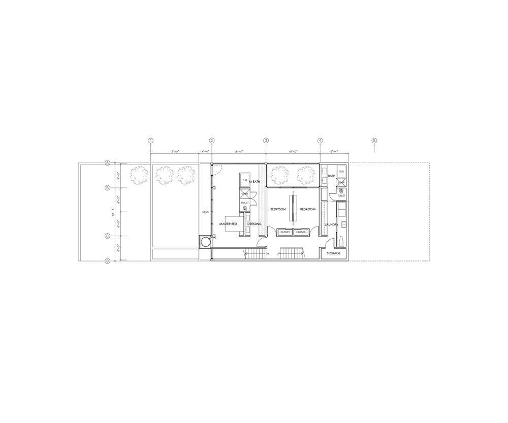 terrace plan lower level