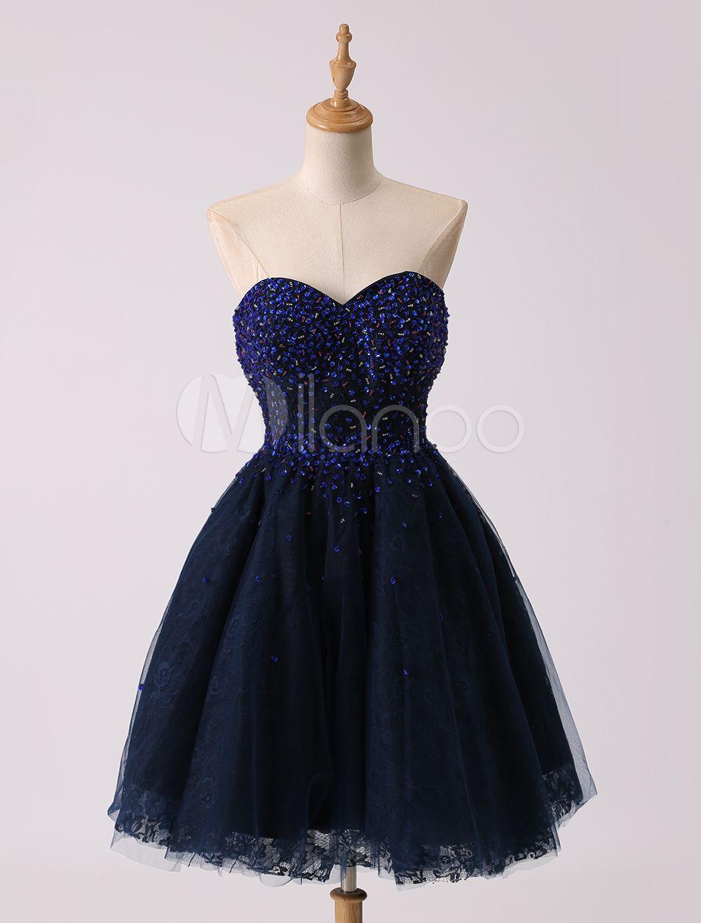 Prom-Kleid aus Tüll in Dunkelblau | kleider | Pinterest | Prom and ...