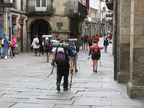 Spain, el Camino de Santiago de Compostela