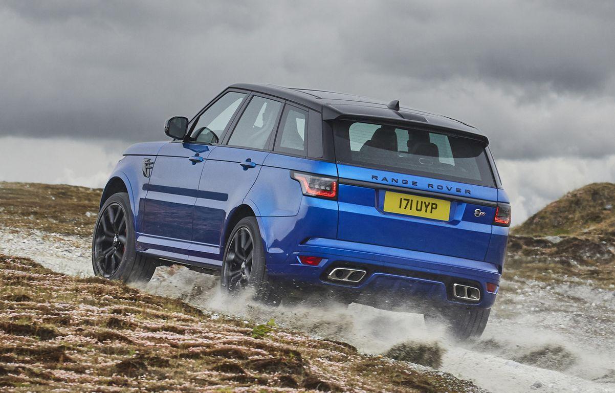 2018 Land Rover Range Rover Sport SVR Revealed, Specs