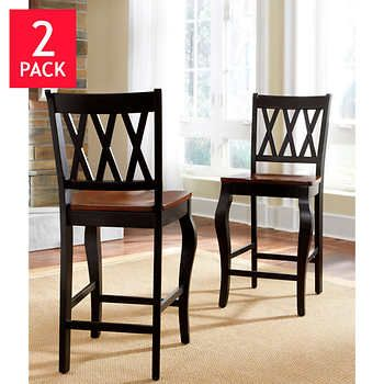 Roslyn Counter Height Dining Chair 2 Pack Counter Height Dining
