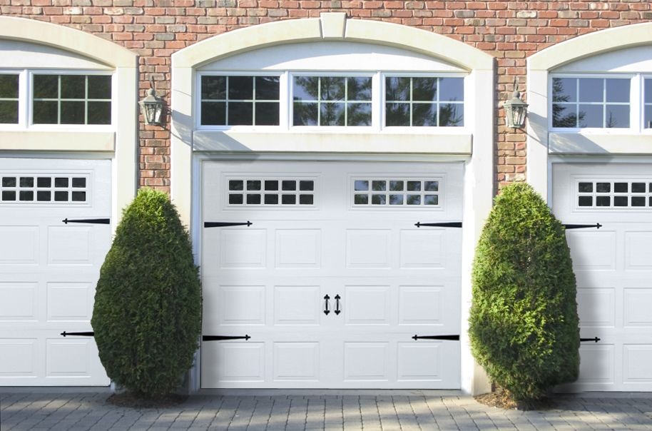 raynor innovations carriage house garage door with decorative hardware - Garage Door Decorative Hardware
