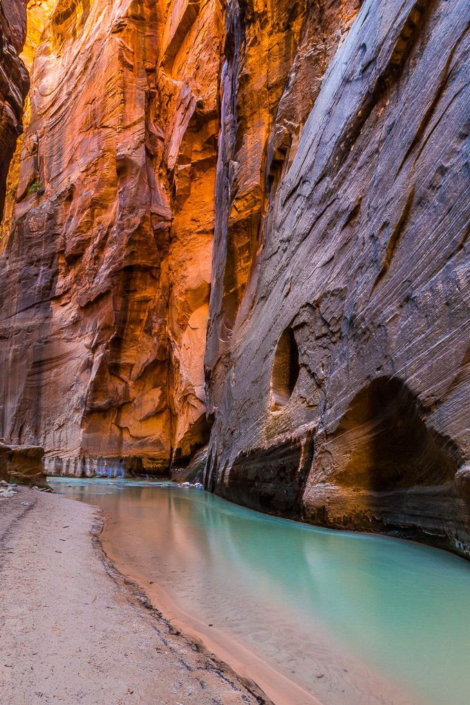 The Narrows in Zion National Park | Get Inspired E