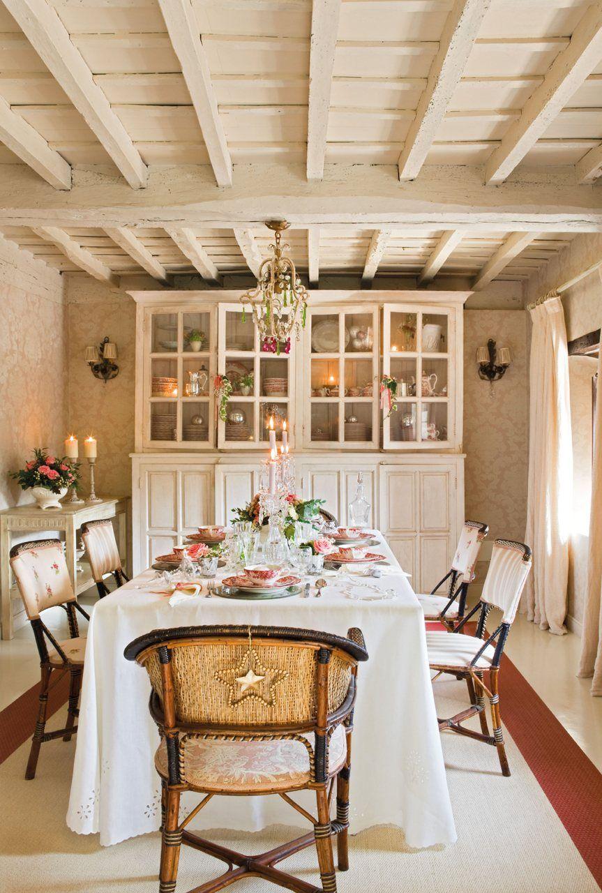 Fin de a o en una casa de campo el mueble casas de - Casas de campo el mueble ...