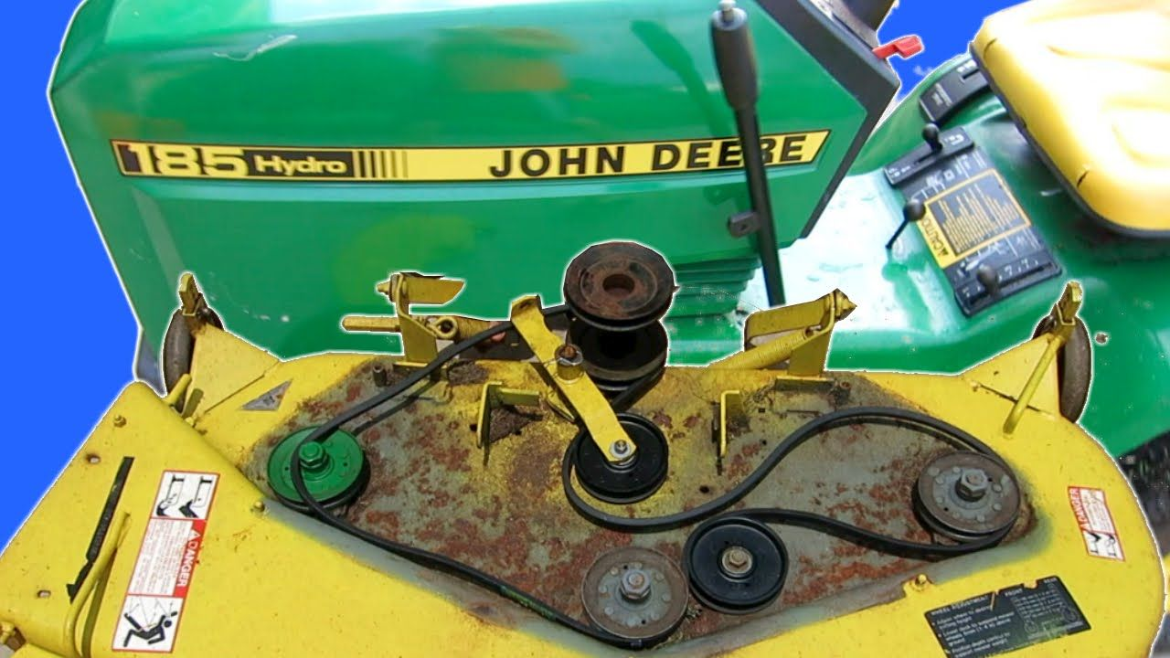 how to maintain a john deere lawn mower deck replace. Black Bedroom Furniture Sets. Home Design Ideas