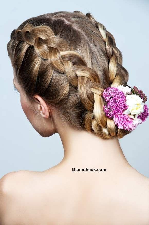 Amazing Side Braids Hairstyles 2 Wedding Hair Pinterest Side Braid Hairstyle Inspiration Daily Dogsangcom