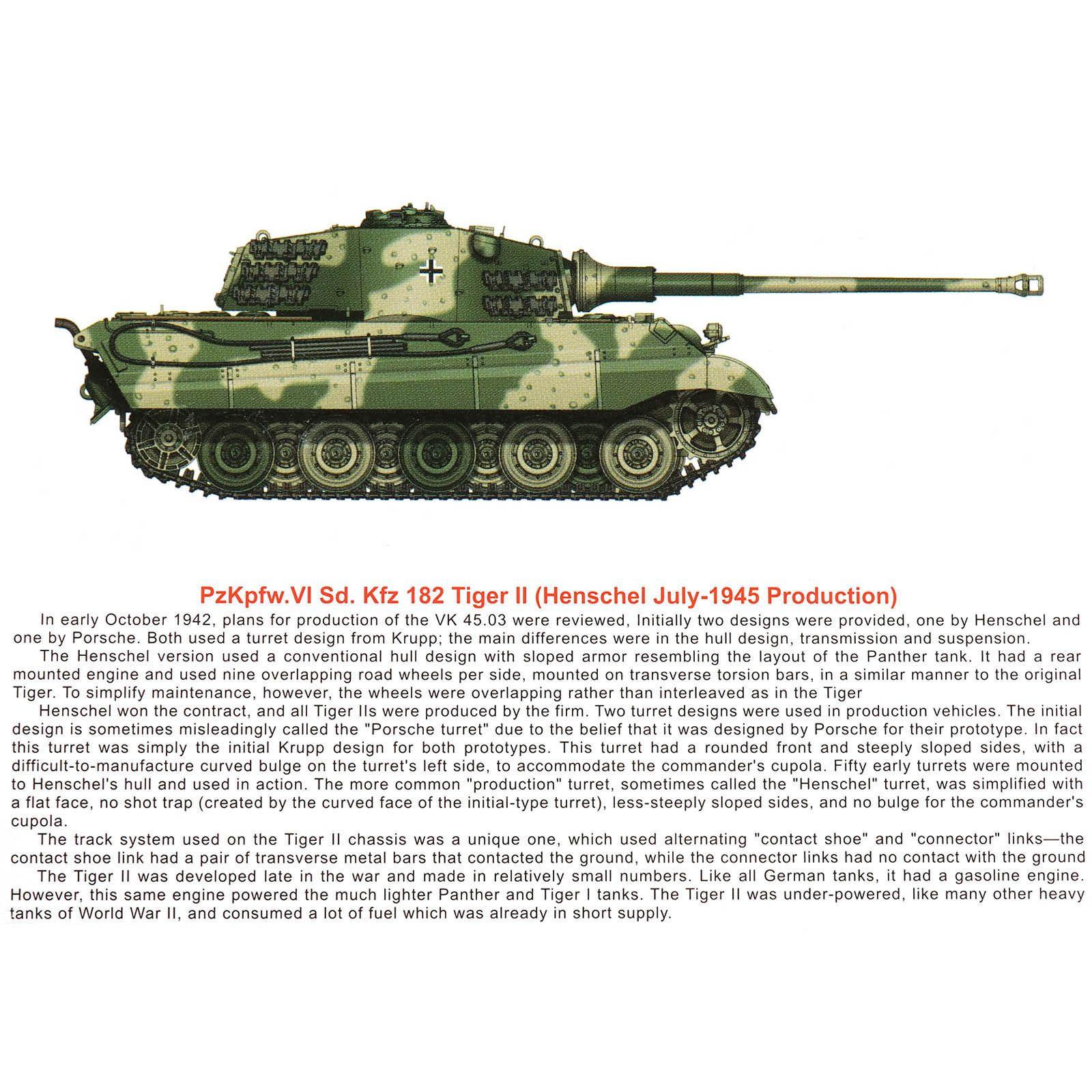 1/144 WW II German Panzer Tiger w/ figures   eBay