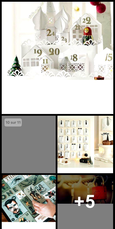 DIY: un calendrier de l'Avent en papier #calendrierdel#39;avent
