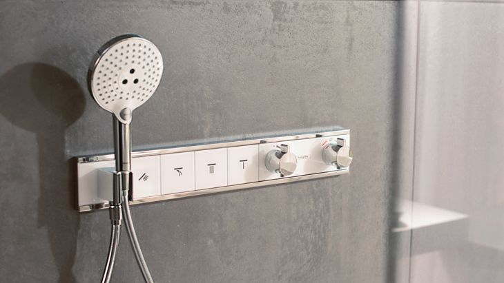 Control your own showering enjoyment with a thermostatic shower ...