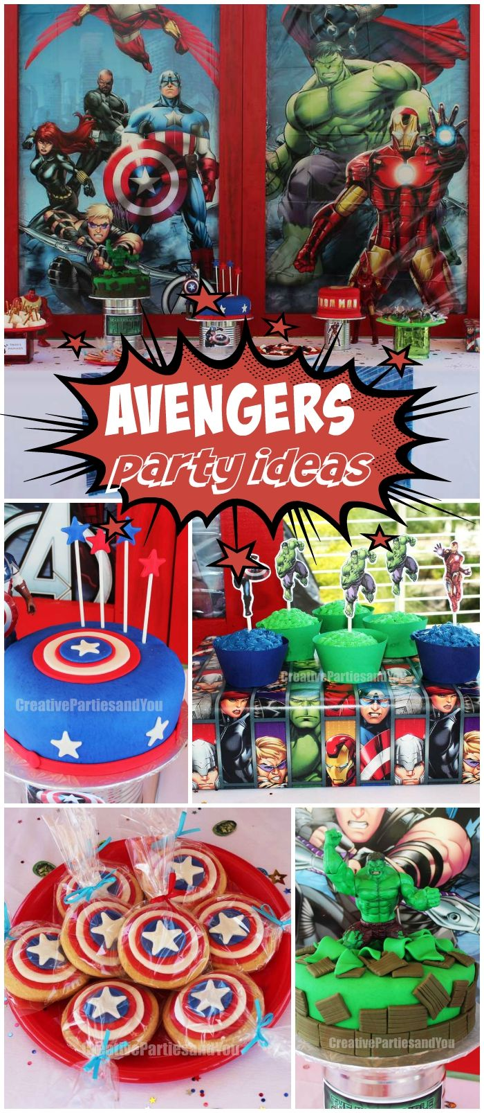 Avengers birthday awesome avengers birthday party superhero party ideas pinterest - Image de super hero fille ...