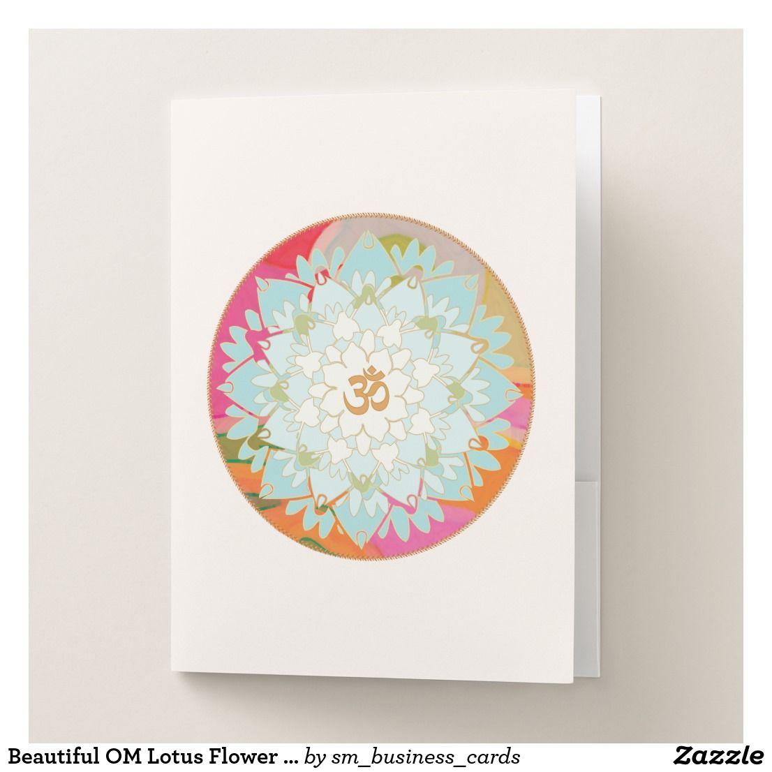 Beautiful OM Lotus Flower Mandala Art | Holistic Health and Natural ...