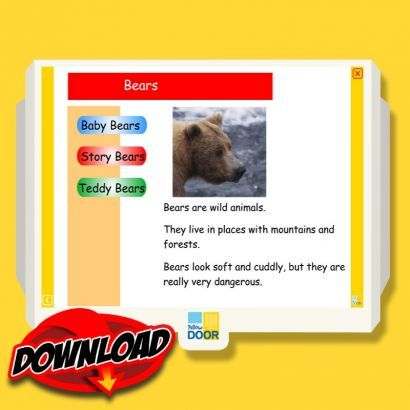 Goldilocks and the Three Bears Interactive Non Fiction Sofware Download with free trial