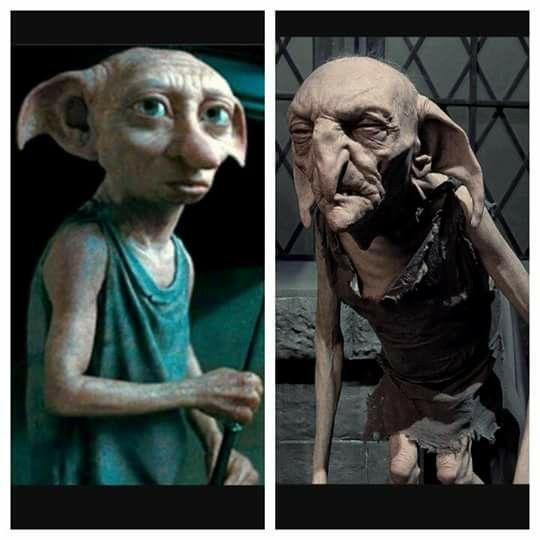 House Elves Dobby Kreacher Harry Potter Characters House Elf Dobby Elf House