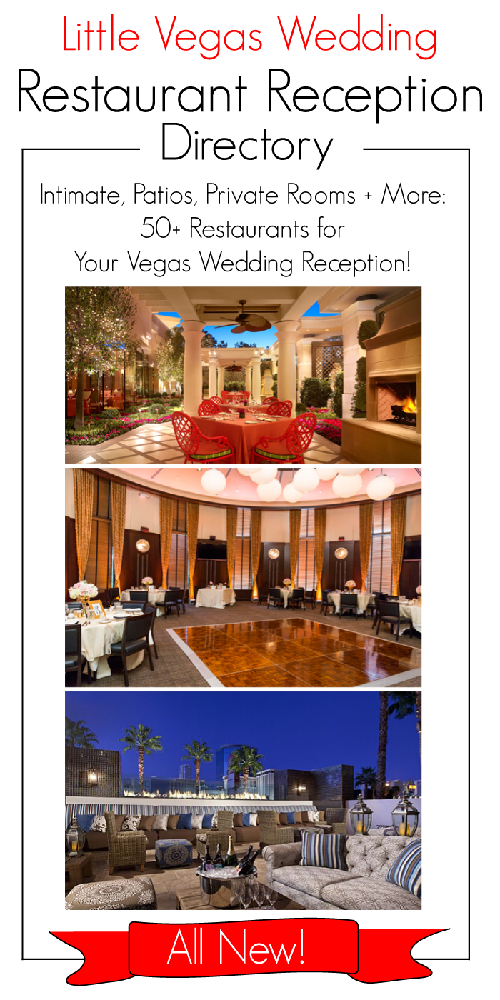 Restaurants Little Vegas Wedding Venue Reception Guide Vegas Wedding Reception Las Vegas Wedding Reception Vegas Wedding Venue