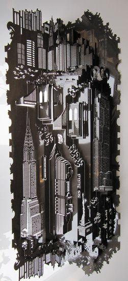 Ingrid Siliakus, Paper architect/artist,  Amsterdam