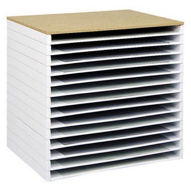 Art Supplies Storage Flat Storage For Canvas Art Supplies