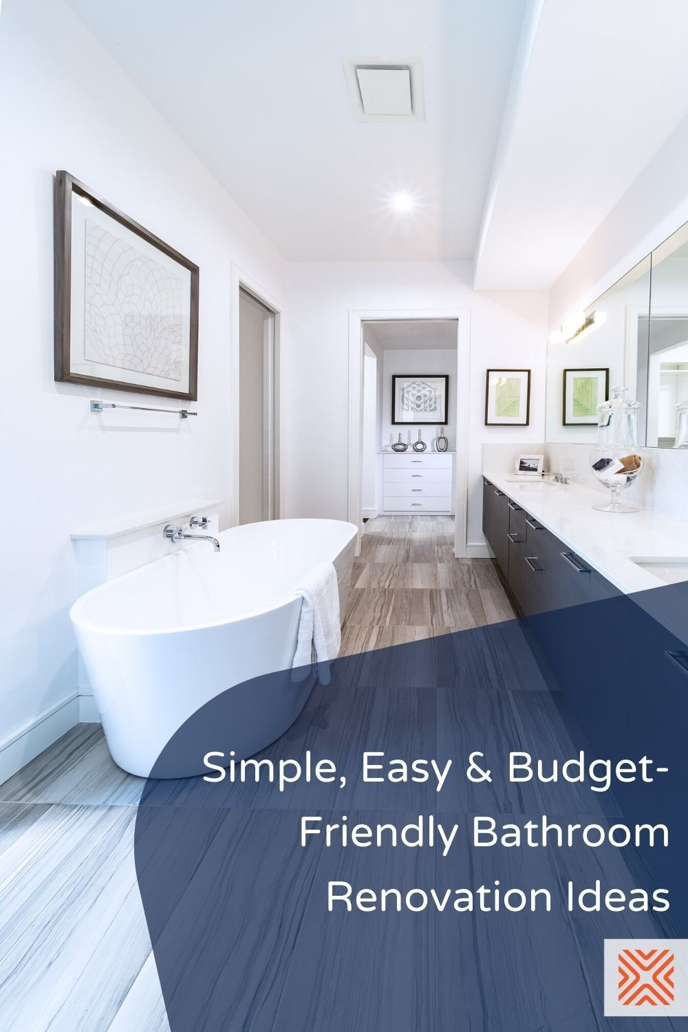 Remodeling a small bathroom on a budget? Take a look at these affordable small bathroom remodels that don't compromise on comfort or functionality, and design a small bathroom with ease! Check them out and try them on your next bathroom remodel project.