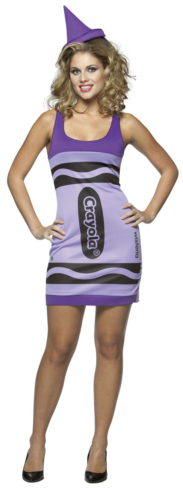 Crayola crayon girls teen costume 9