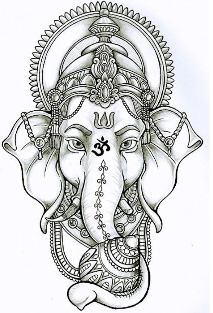 Image Result For Bali Elephant God Tattoo Ideas Tattoos Ganesha